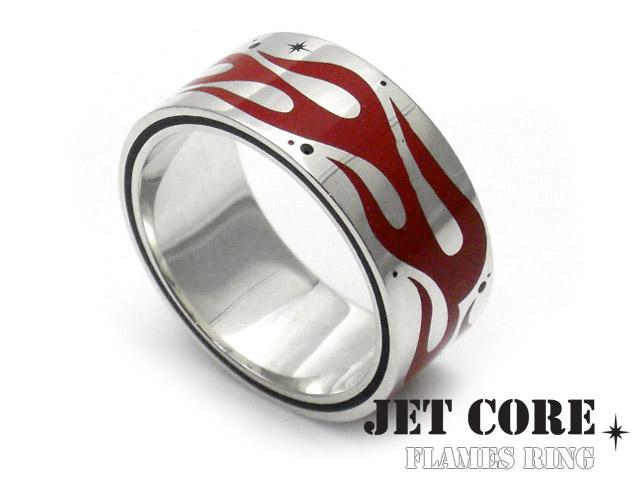 JET CORE (ジェットコア) フレイムス リング [シルバーリング] 送料無料