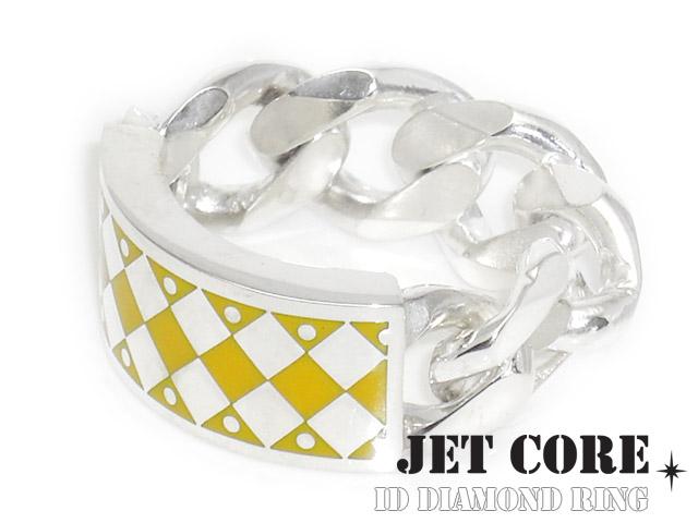 JET CORE (ジェットコア) ID ダイヤモンドチェーン リング [シルバーリング] 送料無料