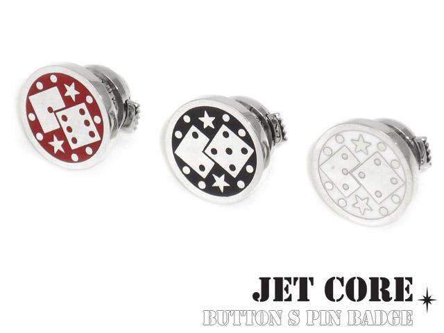 JET CORE (ジェットコア) ボタン S ピンバッジ