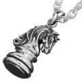 チェスピース ナイト ペンダント ≪トップのみ≫ メンズ ネックレス シルバー アクセサリー [シルバーペンダント] 送料無料