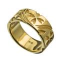K10 ゴールド サクラサク リング 桜 指輪 和柄 ゴールド さくら 指輪 送料無料