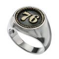 ナンバー 76 リング シルバー アクセサリー リング 指輪 [シルバーリング] 送料無料