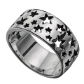 ロッツオブ スターズ ホール リング メンズ 星 スター 指輪 [シルバーリング]  送料無料