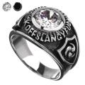 ジルコニア カレッジリング シルバー アクセサリー 指輪 [シルバーリング] 送料無料