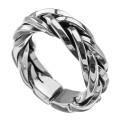 スネーク メッシュ リング 指輪  [シルバーリング] 編み込み 送料無料
