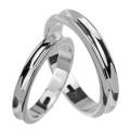 【刻印可能】 【ペア販売】 シンプル 逆甲丸 ペアリング シルバー アクセサリー 指輪 [シルバーリング] ラッピング無料 送料無料 リング