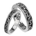 【ペア販売】アラベスク ペアリング シルバー アクセサリー 指輪 [シルバーリング] 送料無料 リング