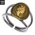 エリザべス コイン リング シルバー アクセサリー 指輪   [シルバーリング] 送料無料