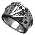 トランプ カード リング メンズ 指輪 [シルバーリング] 送料無料