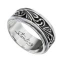 【有料刻印可能】ナチュラル アラベスク リング シルバー アクセサリー 指輪 [シルバーリング]