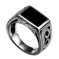 フラットオニキス リング シルバー アクセサリー 指輪 [シルバーリング] ラッピング無料 送料無料