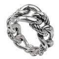 ロープ チェーン デザイン リング 指輪  [シルバーリング]  送料無料