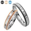 【刻印可能】【ペア販売】 ペア リング 〜Ti amo〜 ステンレス リング シルバー アクセサリー 指輪 [ステンレスリング] 送料無料