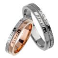 【ペア販売】ステンレススチール ペア リング J ステンレス リング ハワイアン 指輪 [ステンレスリング] ラッピング無料 送料無料
