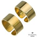 BLUEjewelry(ブルージュエリー) リング 平打ち (9mm幅) ブラス真鍮 マット 艶消し 艶あり 幅広 ハンドメイド メンズ レディース  日本製  (bjr-9002-bs) [ブラスリング]