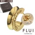 CULTURAL FLUI (カルトラルフルイ) ブランド ゴールド リフレクション ピアス K10 メンズ アクセサリー 送料無料 片耳用(1個売り)