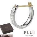 FLUI (フルイ) ブランド バケットカット フープピアス ピアス メンズ アクセサリー CULTURAL FLUI カルトラルフルイ 片耳用(1個売り)