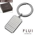 FLUI (フルイ) ブランド バケットカット プレート キーホルダー メンズ アクセサリー CULTURAL FLUI カルトラルフルイ