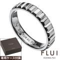 FLUI (フルイ) ブランド バゲット カット リング メンズ アクセサリー CULTURAL FLUI カルトラルフルイ [シルバーリング]