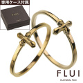 【ペア販売】 CULTURAL FLUI (カルトラルフルイ) ブランド ゴールド モチーフ コレクション ペア  リング K10 アクセサリー クロス [ゴールドリング]
