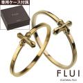 【ペア販売】 FLUI (フルイ) ブランド ゴールド モチーフ コレクション ペア  リング K10 アクセサリー クロス CULTURAL FLUI カルトラルフルイ [ゴールドリング]