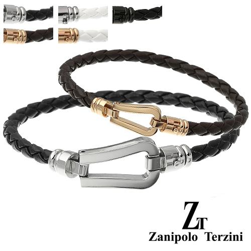 【ペア販売】zanipolo terzini (ザニポロタルツィーニ) ホースシュー ペア ブレスレット ステンレス アクセサリー [ステンレスブレスレット]