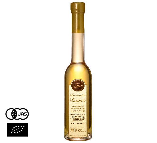 有機JAS認証 ホワイトバルサミコ・ディ・モデナ・ビオ (オーガニック白バルサミコ酢)イタリア産[250ml]【常温便】