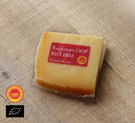 海外有機認証 ラグザーノ18ヶ月熟成 オッキピンティ・ラッティチーニ社(オーガニック スタジオナートチーズ)イタリア産[約100g]【冷蔵便】