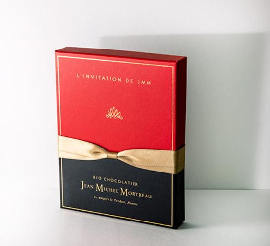 2019バレンタインデー チョコレート ジャン=ミッシェル・モルトロー「JMMセレクシヨン(12個入) 」【常温便】オーガニック チョコ フランス ショコラ