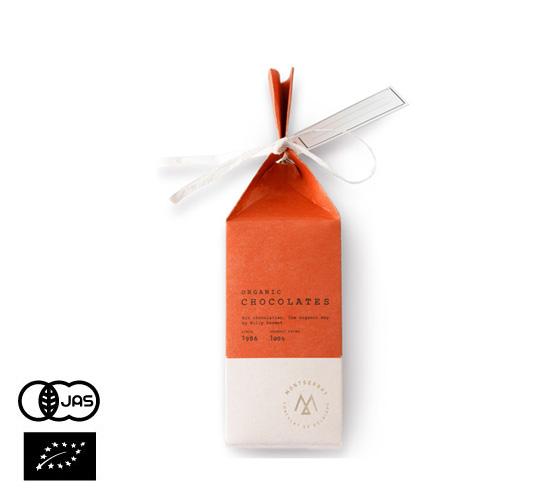 2021 ホワイトデー オーガニックチョコレート モンセラート「カドー テール[2個入]」(ベルギーチョコ)【常温便】