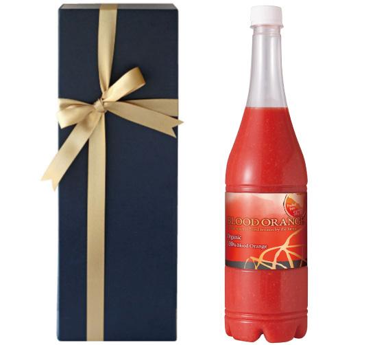【箱代込・ラッピング代込】海外有機認証 ブラッドオレンジジュース 100%果汁(オーガニック シチリアのオレンジジュース)イタリア産[1000ml]【冷凍便】