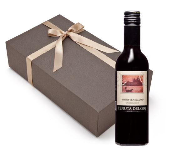 【箱代込・ラッピング代込】海外有機認証 ビオワイン Tenuta Del Giaj Rosso Veneziano(オーガニックワイン テヌータ・デル・ジアイ ロッソ ヴェネツィアーノ)イタリア産[375ml]【常温便】