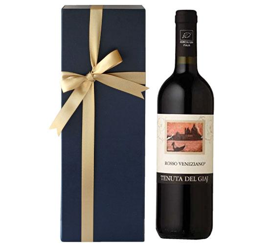 【箱代込・ラッピング代込】海外有機認証 ビオワイン Tenuta Del Giaj Rosso Veneziano(オーガニックワイン テヌータ・デル・ジアイ ロッソ ヴェネツィアーノ)イタリア産[750ml]【常温便】