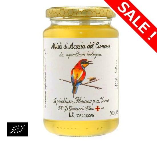 【アウトレット】海外有機認証 アピコルトゥーラ・フロリアーノp.aトゥルーコ はちみつ(オーガニックハチミツ)タンポポの蜂蜜 イタリア産[250g]【常温便】