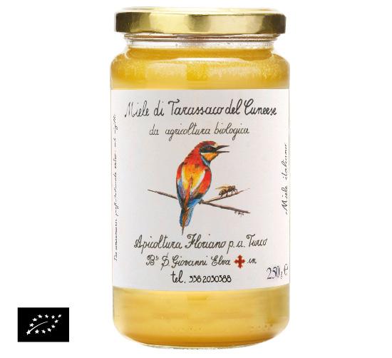 ユーロリーフ認証 アピコルトゥーラ・フロリアーノp.aトゥルーコ はちみつ(天然ハチミツ)タンポポの蜂蜜 イタリア産[250g]【常温便】