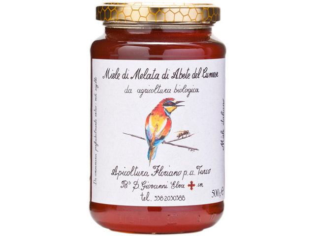 海外有機認証 アピコルトゥーラ・フロリアーノp.aトゥルーコ はちみつ(オーガニックハチミツ)アルバ松(モミの木)の蜂蜜 イタリア産[500g]【常温便】