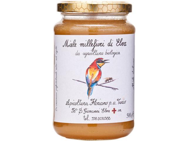 海外有機認証 アピコルトゥーラ・フロリアーノp.aトゥルーコ はちみつ(オーガニックハチミツ)エルバの花の蜂蜜 イタリア産[500g]【常温便】