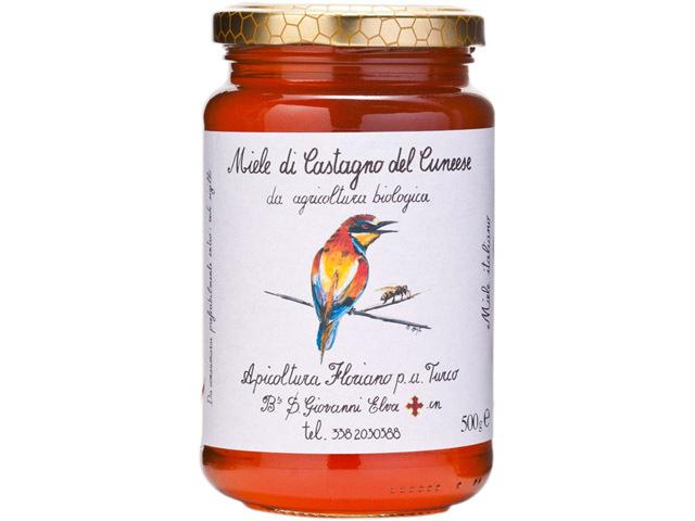 海外有機認証 アピコルトゥーラ・フロリアーノp.aトゥルーコ はちみつ(オーガニックハチミツ)栗の花の蜂蜜 イタリア産[500g]【常温便】