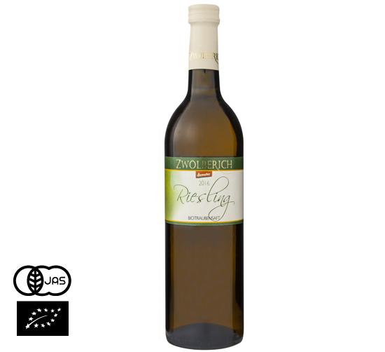 有機JAS認証 ノンアルコールワイン(白)リースリング ツォルベリッヒ社(オーガニック 葡萄(ぶどう)ジュース)ドイツ産[735ml]【常温便】