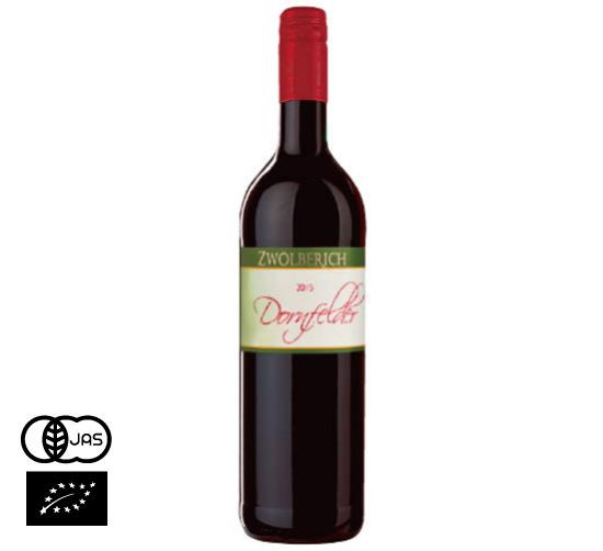有機JAS認証 ノンアルコールワイン(赤)ドルンフェルダー ツォルベリッヒ社(オーガニック 葡萄(ぶどう)ジュース)ドイツ産[735ml]【常温便】