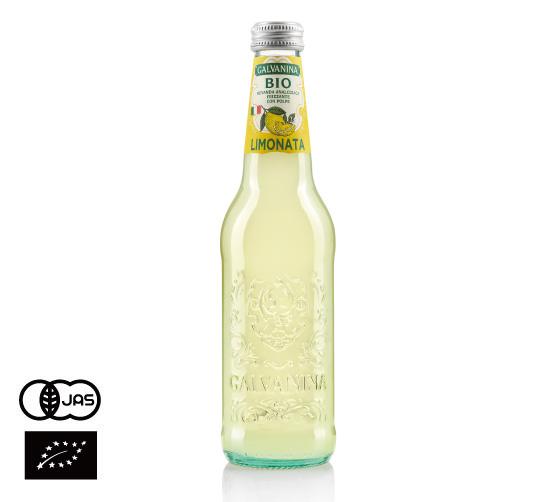 有機JAS認証 ビオ リモナータ(レモネード) ガルバニーナ(GALVANINA CENTURY BIO オーガニック 炭酸 レモンジュース)[355ml]イタリア産《常温便》