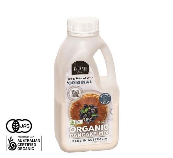 有機JAS認証 オーガニック パンケーキミックス キアラピュアフーズ社 (ホットケーキミックス) [325g] オーストラリア産 《常温便》