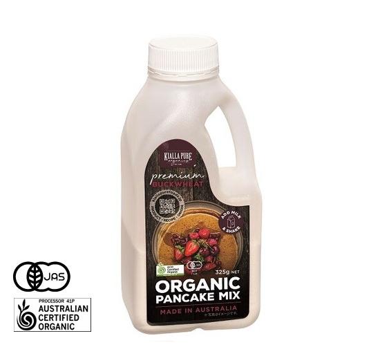 有機JAS認証 オーガニック パンケーキミックス(そば粉入り) キアラピュアフーズ社 (ホットケーキミックス) [325g] オーストラリア産 《常温便》