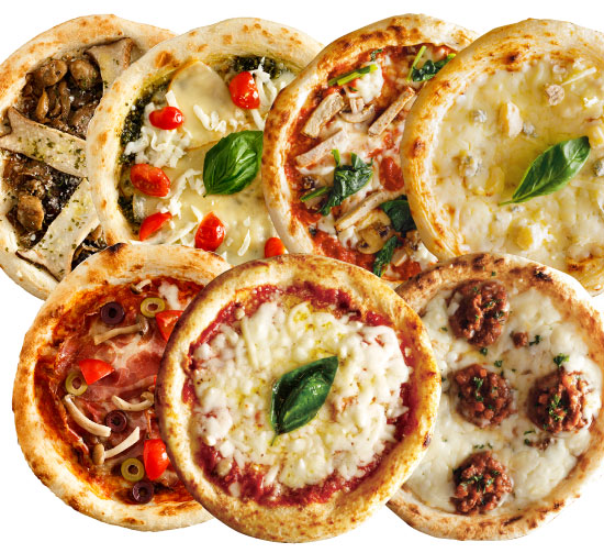 【送料無料】【ナポリ風ピザ】「選べるピザ7枚セット」天然酵母・有機小麦粉使用ピッツァ【冷凍便】