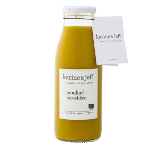 有機JAS認証 森の木こりのスープ カリーヌ&ジェフ(オーガニック 栗かぼちゃとマッシュルームのスープ)フランス産[500ml]