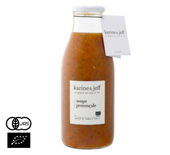 有機JAS認証 スープ・プロヴァンサル カリーヌ&ジェフ(オーガニック プロヴァンス風スープ)フランス産[500ml]