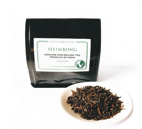 FTGFOP1 ダージリン・セリンボン茶園 2020セカンドフラッシュ 紅茶 インド産[茶葉50g]《常温便》
