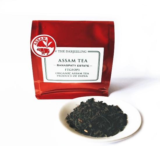 FTGFOP1アッサム・バナスパティ茶園 紅茶 インド産[茶葉50g]《常温便》