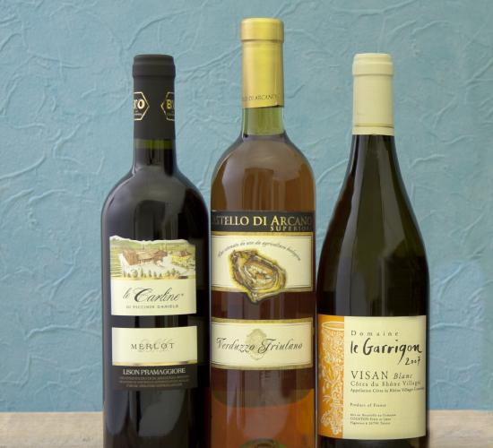 オーガニックワイン福袋 (750mlx2本 375mlx1本) ビオワイン3本入り