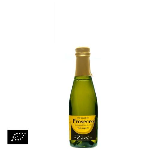 海外有機認証 ビオワイン Piccolo Prosecco Frizzante(オーガニックワイン ピッコロ プロセッコ フリザンテ)イタリア産[200ml]【常温便】